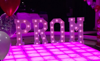 Prom Light Up Letters